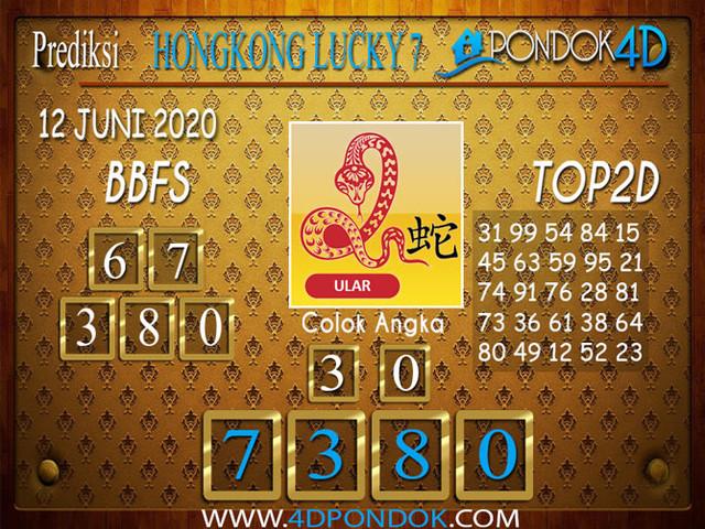 Prediksi Togel HONGKONG LUCKY 7 PONDOK4D 12 JUNI 2020