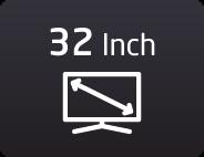 32 بوصة