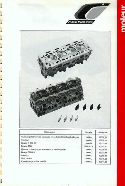 Catalogue PTS pièces compétition - 205 GTI 1600-1900 gr. N/A PTS-Moteur-4