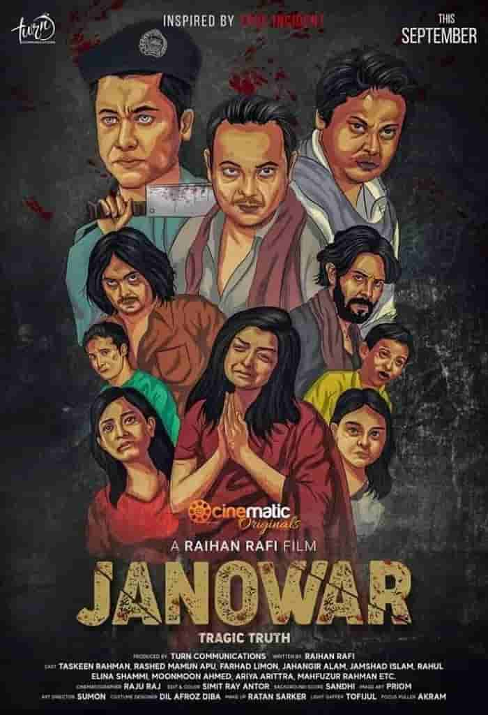 Janowar 2021 Bangla Full Movie 720p HDRip 700MB x264 MKV Download