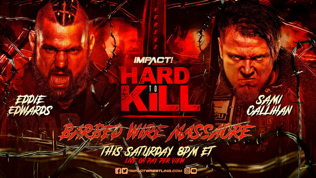 Barbed Wire Massacre Eddie Edwards contra Sami Callihan