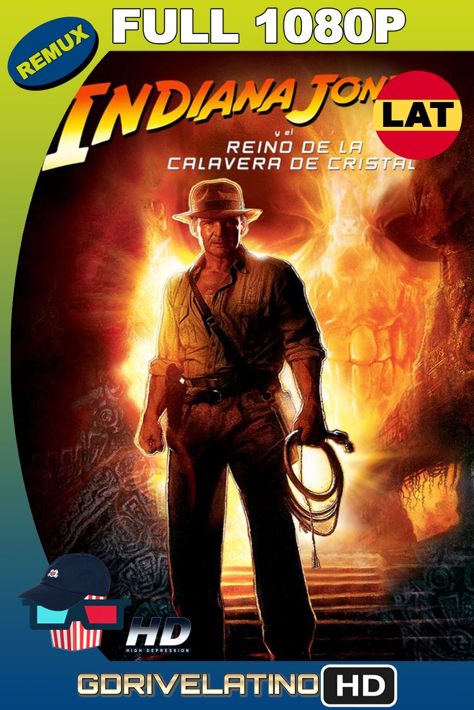 Indiana Jones 4: El Reino de la Calavera de Cristal (2008) BDRemux 1080p latino-ingles MKV