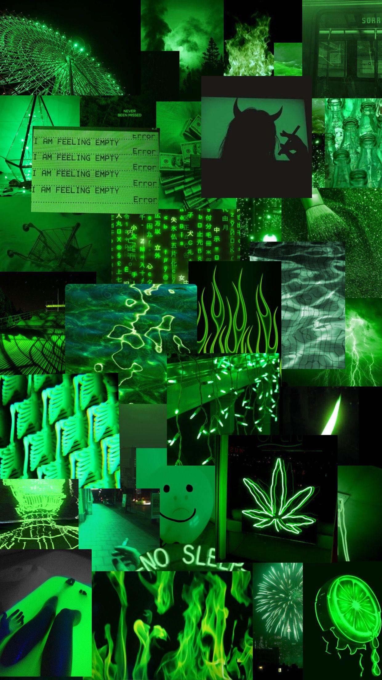 Green-aesthetic-green-aesthetic-background-lights-dark-wallpaper-freetoedit