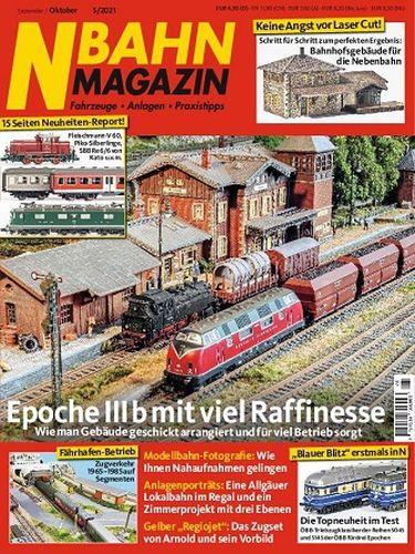 Cover: N-Bahn Magazin September-Oktober No 05 2021