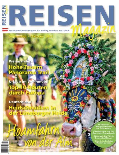 Cover: Reisen Magazin No 10 September-Oktober 2021