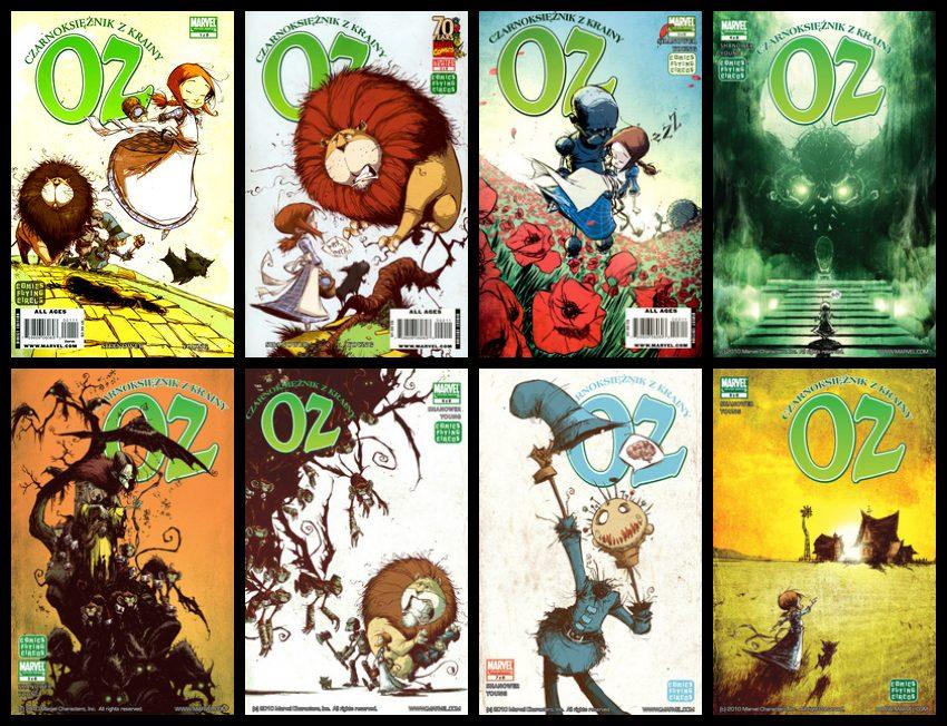Czarnoksiężnik z krainy Oz #1-8