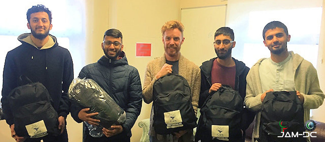 Британские Мечети помогут бездомным
