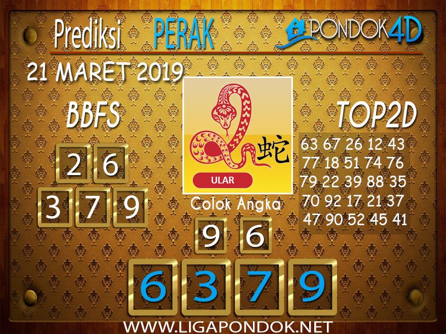 Prediksi Togel  PERAK  PONDOK4D 21 MARET 2019