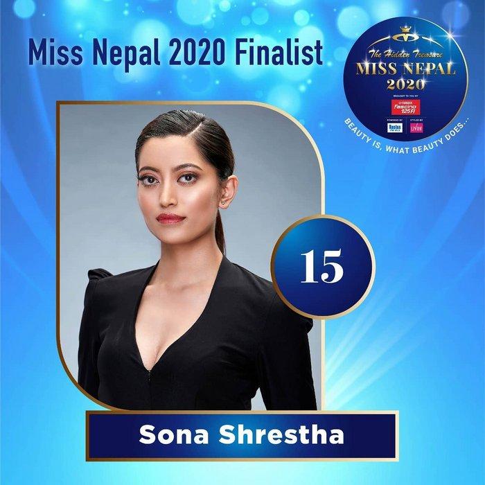CANDIDATAS A MISS NEPAL 2020. FINAL 3 DE DICIEMBRE. 15