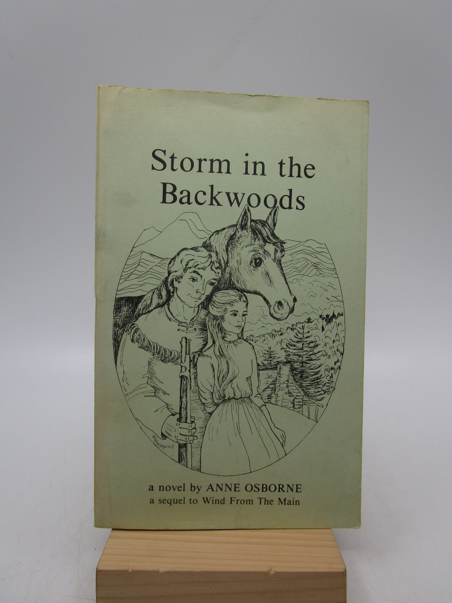 Image for Storm in the Backwoods: A historical novel (SIGNED)