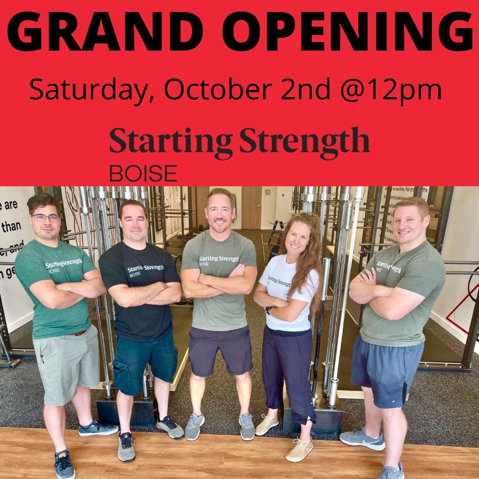 Starting Strength Boise