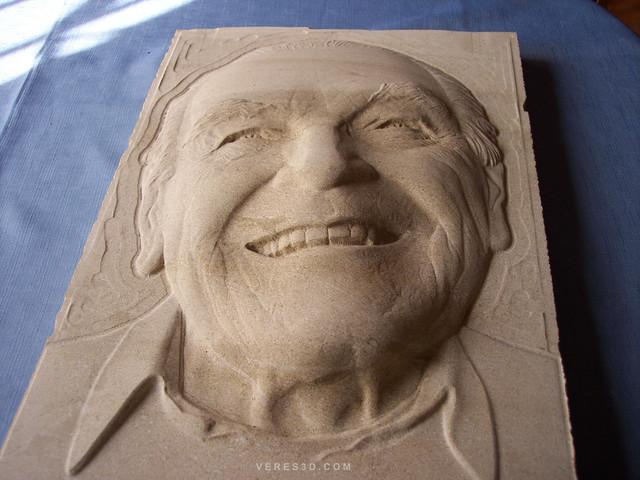 Stonecarving portrait