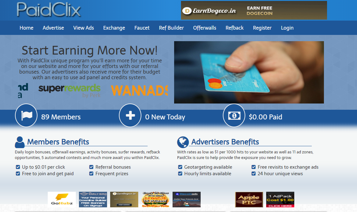 SCAM – Paidclix.online Review – Is Paidclix.online  Scam or Paying?