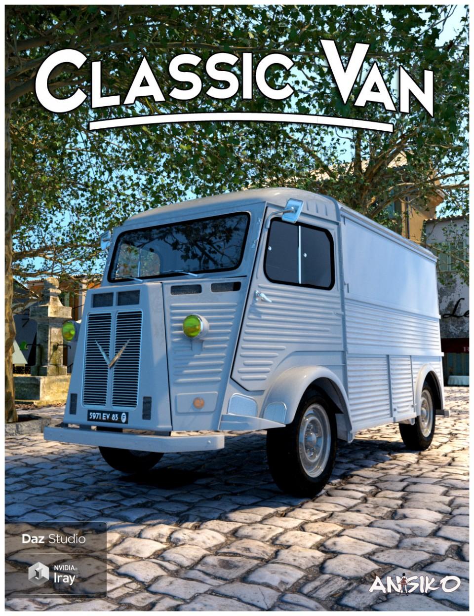 Classic Van and Props