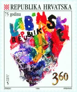 1996. year HRVATSKI-POLITI-KI-MILJOKAZI-75-G-LABINSKE-REPUBLIKE