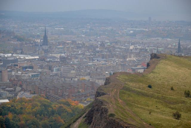 Шотландия в октябре (Эдинбург, Инвернесс, Фортроз, Лох-несс, без машины)