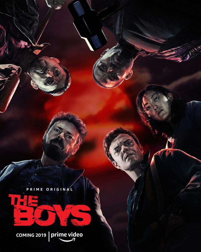 Смотреть Пацаны / The Boys 1 сезон Онлайн бесплатно - Действие сериала разворачивается в мире, где существуют супергерои. Именно они являются...
