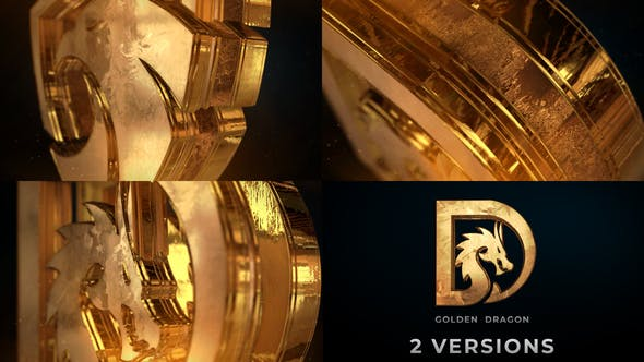 Videohive - Gold Logo Reveal - 33121350