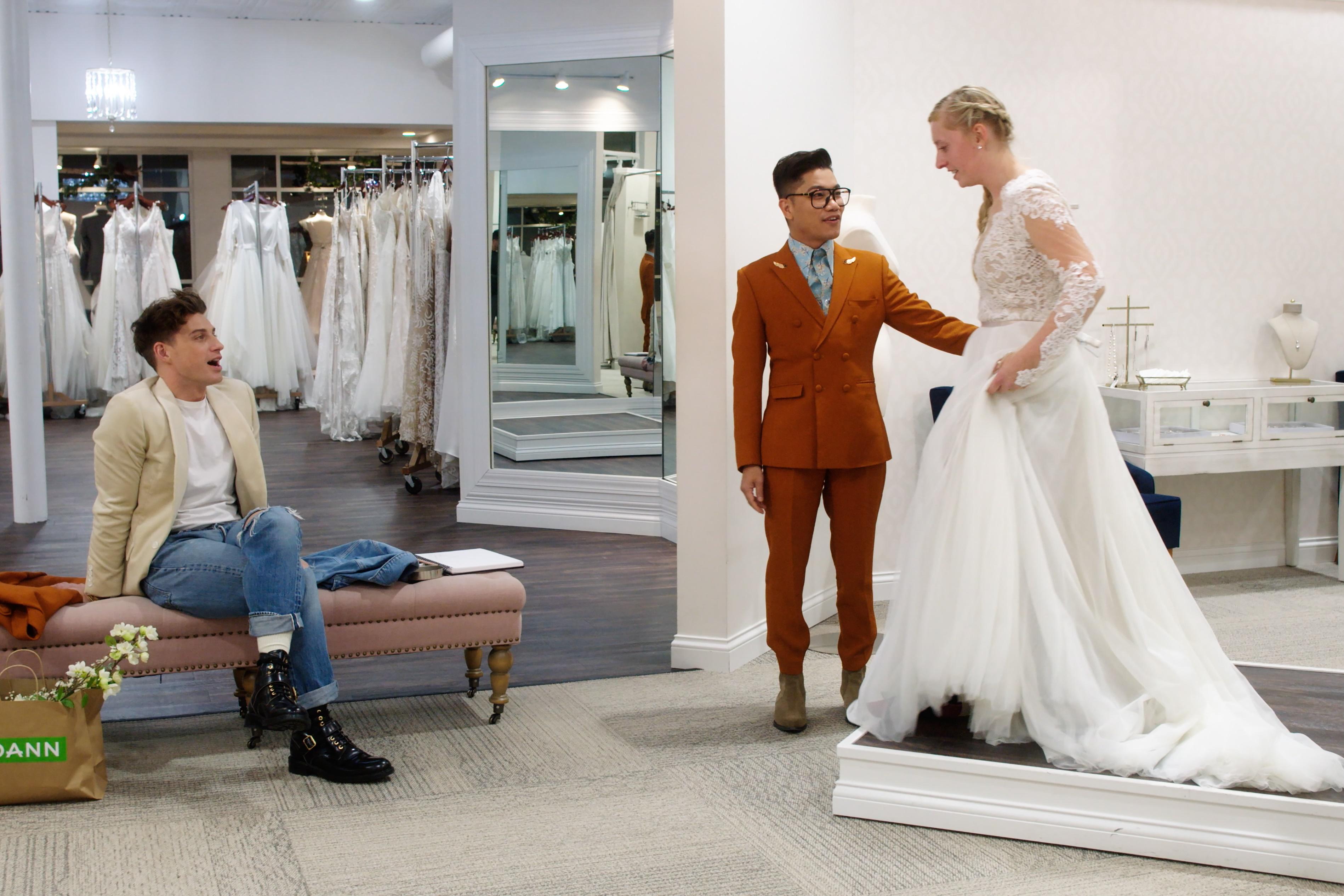 SAY-I-DO-L-to-R-Interior-designer-Jeremiah-Brent-and-fashion-designer-Thai-Nguyen-in-episode-8-of-SA