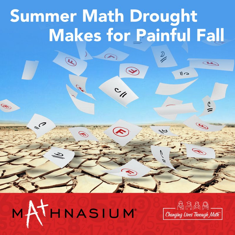 Summer Math Drought Ahead