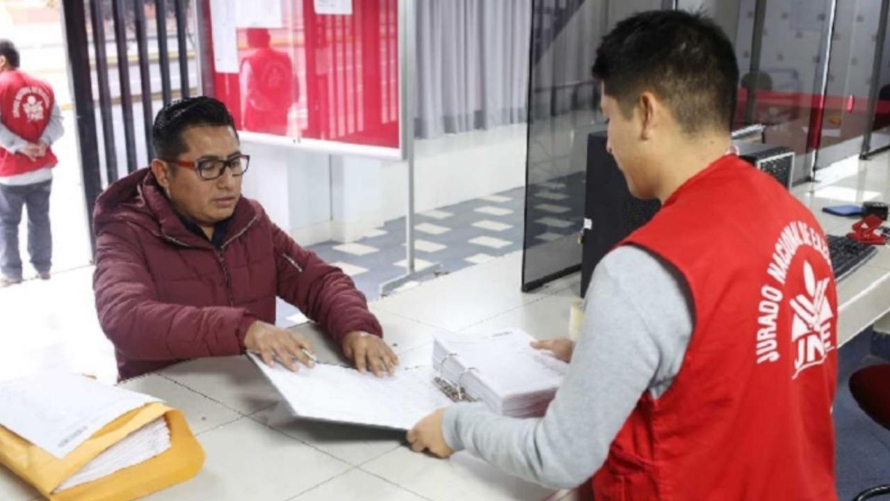 JNE: 43 listas de candidatos piden participar en comicios ediles complementarios