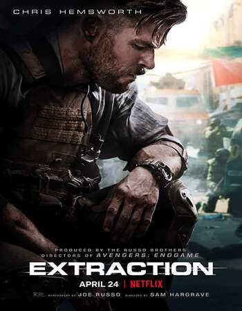 Extraction (2020) Dual Audio Hindi ORG 480p WEB-DL x264 400MB ESubs