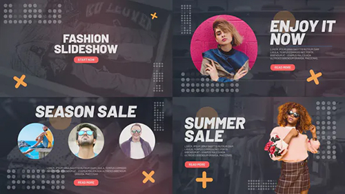 Fashion Slideshow 32709094 - Project for After Effects (Videohive)