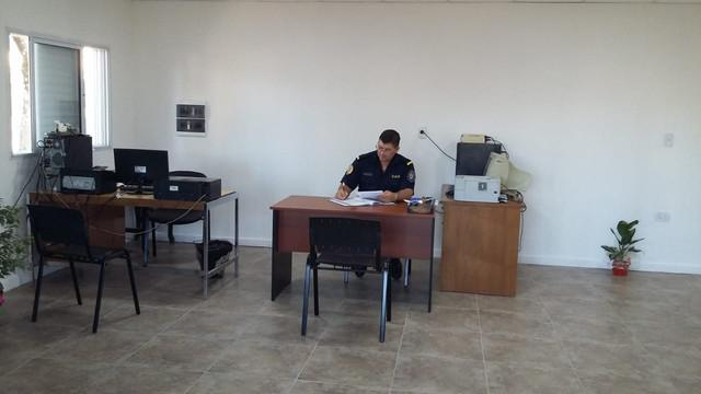 Con atención parcial de servicios comenzó a funcionar el nuevo edificio de la Comisaria