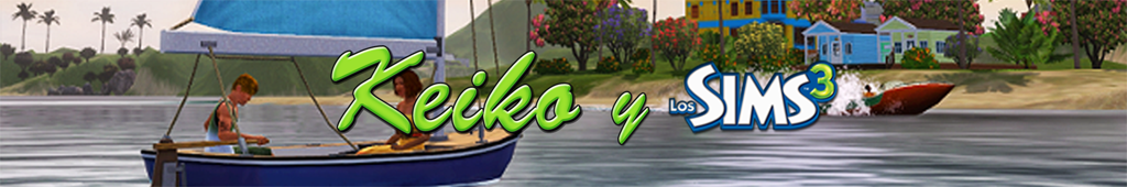 Keiko y los Sims 3