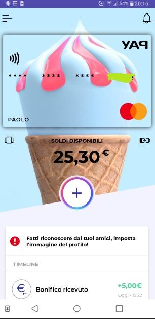 YAP L'App gratuita che ti restituisce denaro! CASHBACK RESTITUZIONE DENARO SU USO CONTO! - Pagina 2 Ricarica-skin-10