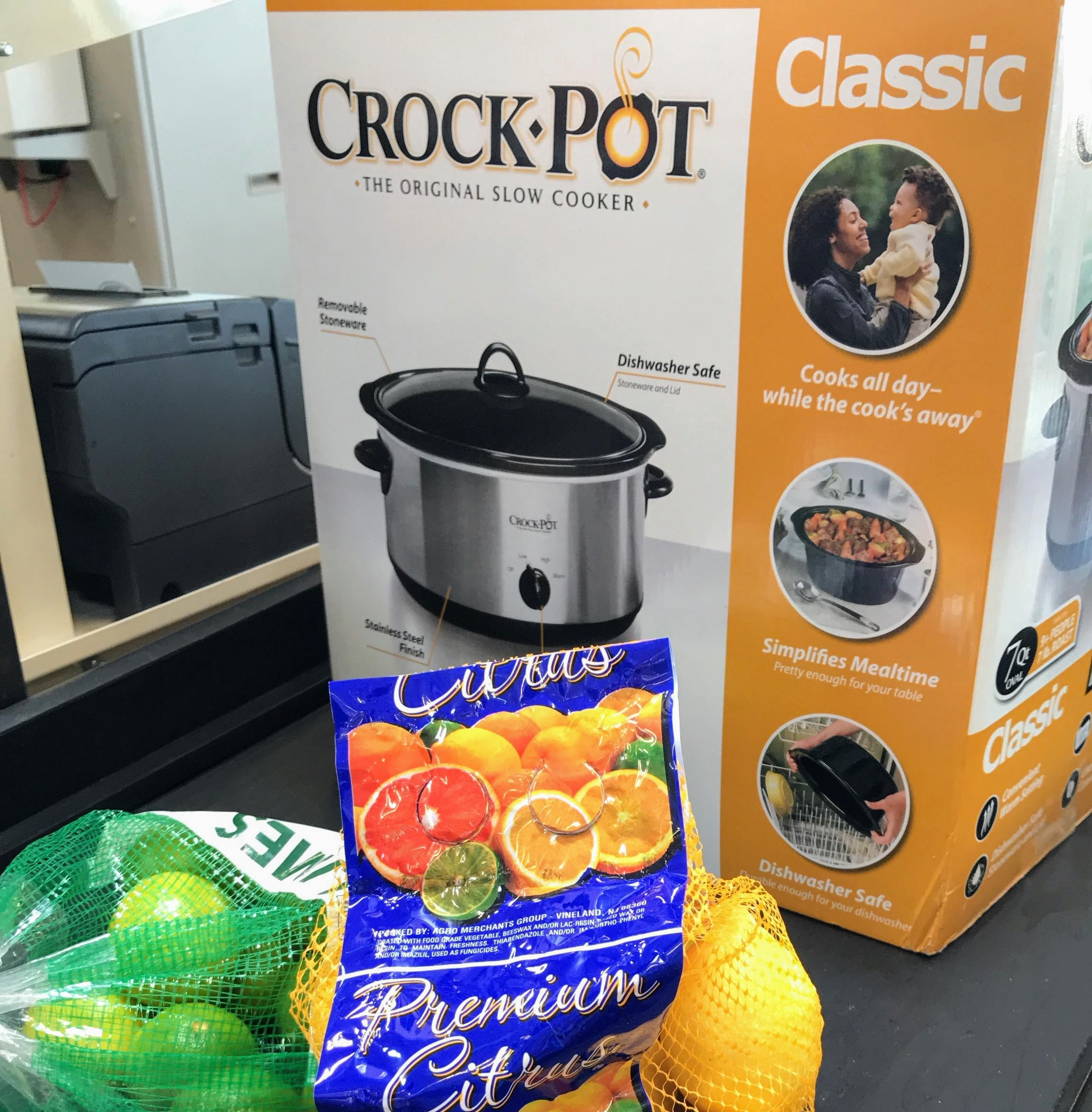 Invest in a crockpot to save time and simplify your life