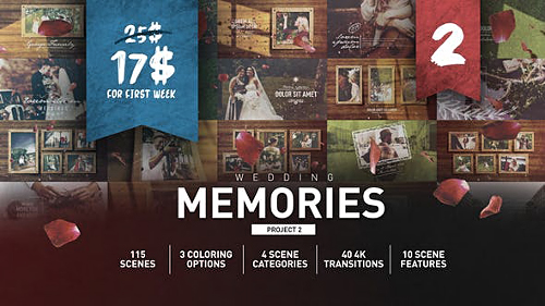 Wedding Memories Slideshow 25802982 - Project for After Effects (Videohive)