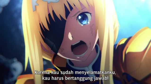 SAO Alicization War of Underworld Episode 1 Subtitle Indonesia