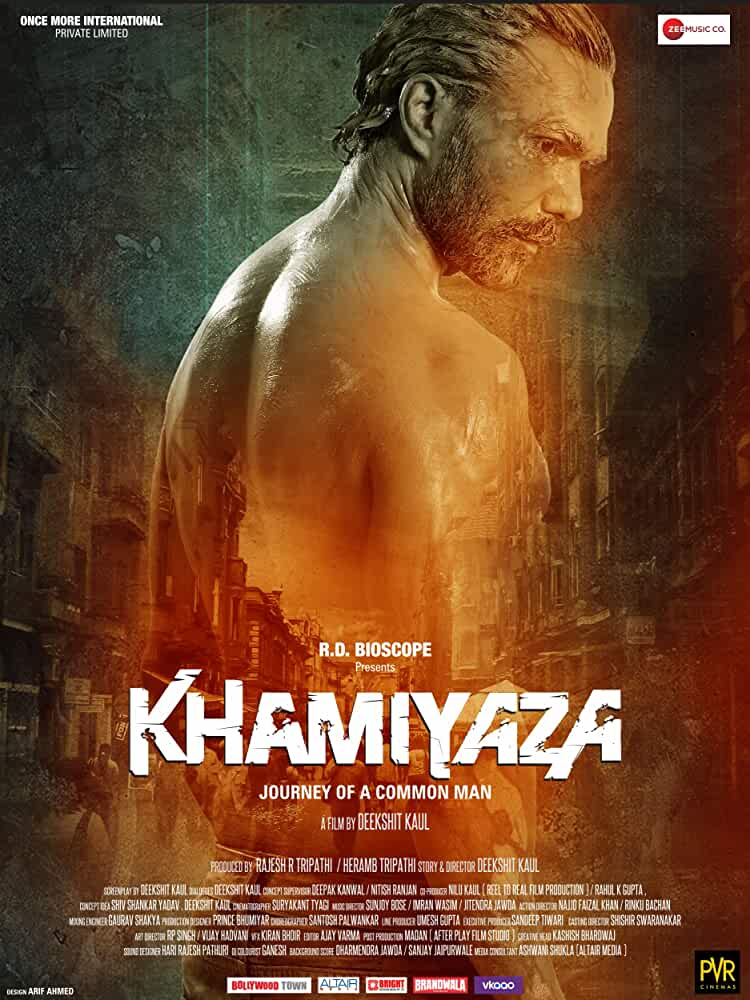 Khamiyaza Journey of a Common Man (2019) Hindi 480p WEB-DL 350MB Download