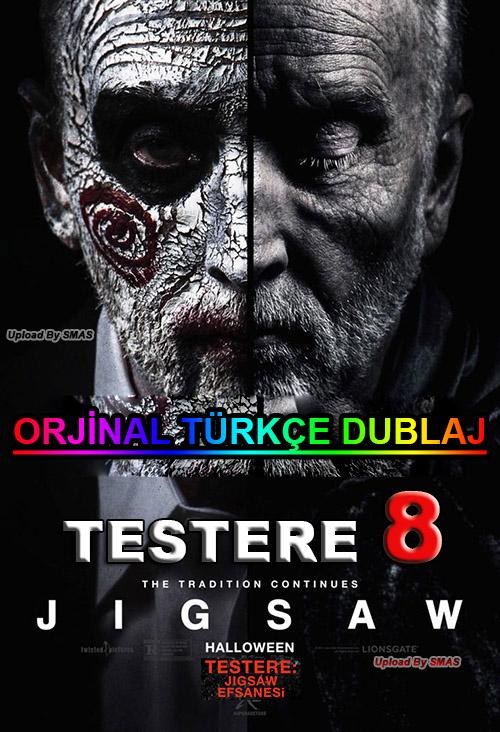 Testere 8: Jigsaw Efsanesi | 2017 | BDRip | XviD | Türkçe Dublaj | m720p - m1080p | BluRay | Dual | TR-EN | Tek Link