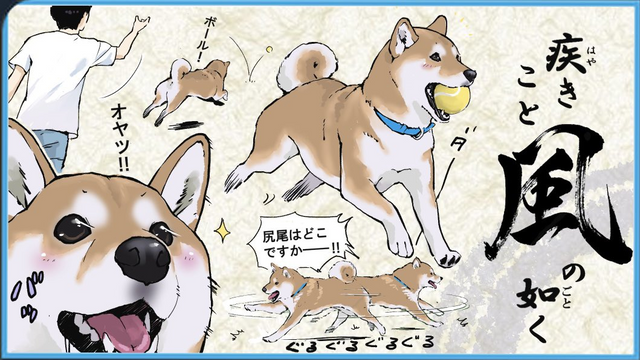 柴犬風林火山 Image