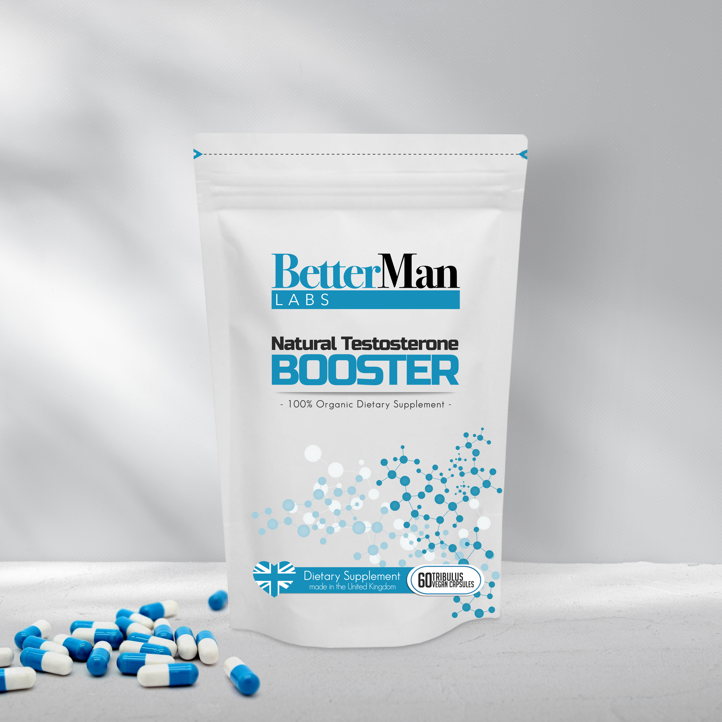 BetterMan Natural Testosterone Booster the Organic Gem for Men
