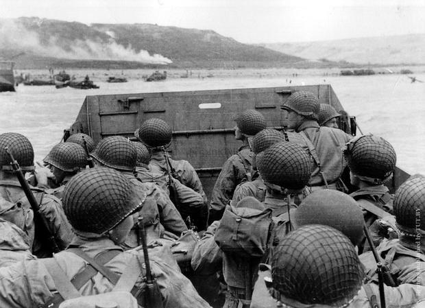 Allied landings in Normandy (Archival photo)