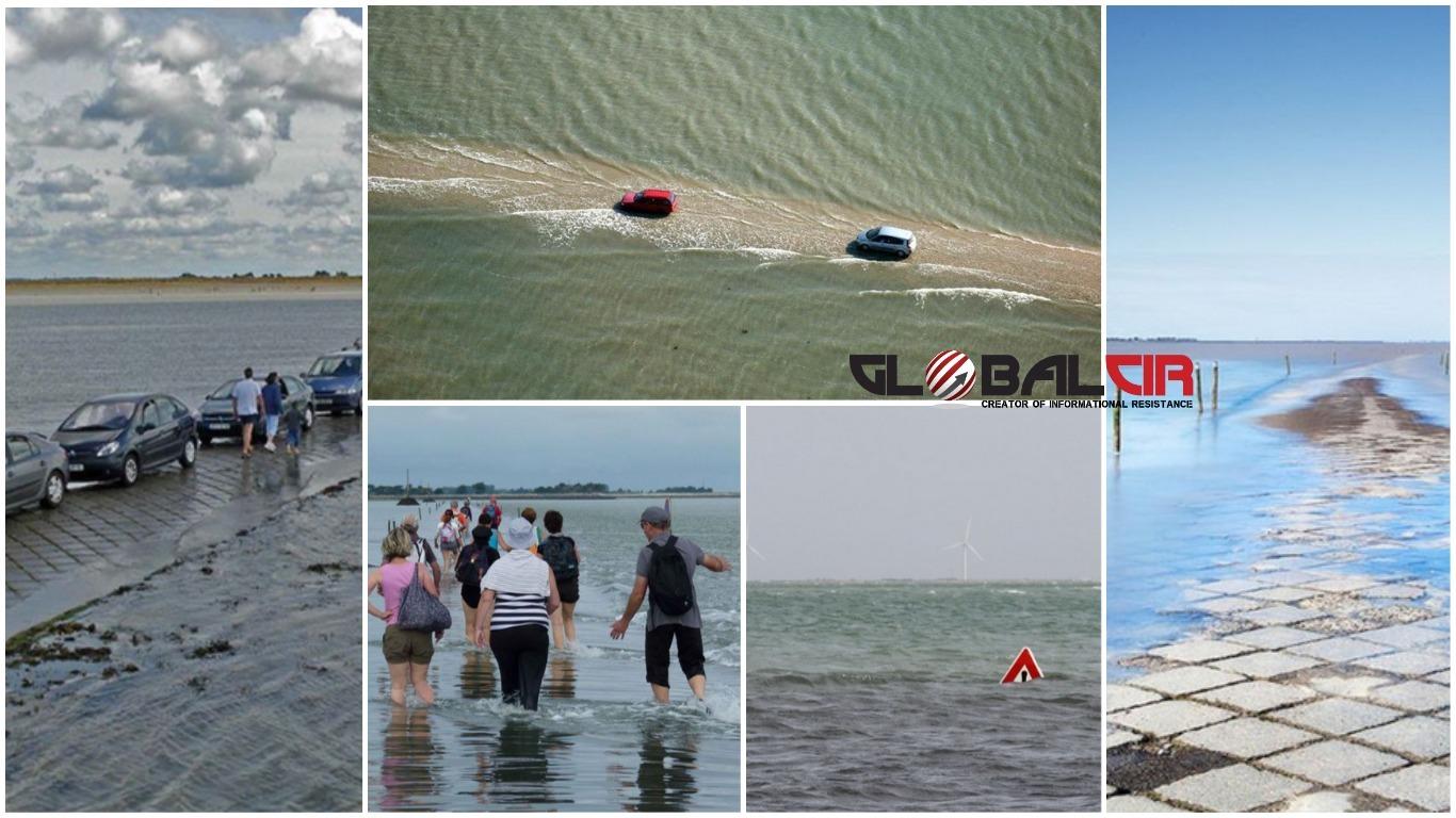 PRIRODNI PUT DO OTOKA NOIRMOUTIER! Cesta u Francuskoj koja nestaje ispod vode dva puta dnevno!