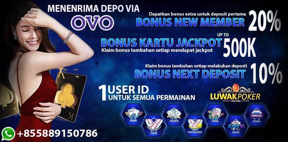 LUWAKPOKER Poker Online Terpercaya, Situs Agen Domino Ceme