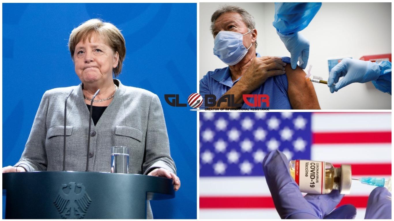 """U VELIKOJ BRITANIJI TRAJE MASOVNA VAKCINACIJA, U SAD-u POČINJE SUTRA! Zašto  Njemačka ponovo uvodi potpuni """"lockdown"""" do 10. januara? - GlobalCir"""