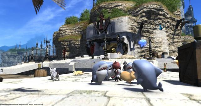 日本Taito推出《最終幻想 14》鯊魚指揮官及「莫莫拉·莫拉」限定版毛絨玩偶,尺寸均為30cm左右,均將於11月中旬 發售,售價暫未公開。 Image