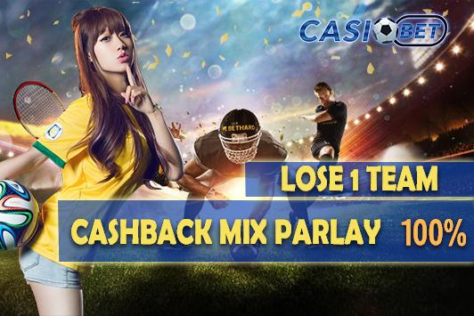 Cashback Parlay 100%