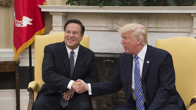 STX04-WASHINGTON-ESTADOS-UNIDOS-19-06-2017-El-presidente-estadounidense-Donald-Trump-d-saluda-al-pre