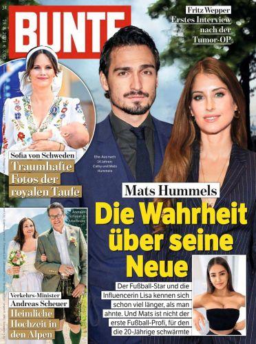 Cover: Bunte Magazin No 34 vom 19  August 2021