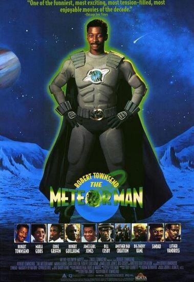 Człowiek-meteor / The Meteor Man (1993) PL.BRRip.XviD-GR4PE   Lektor PL