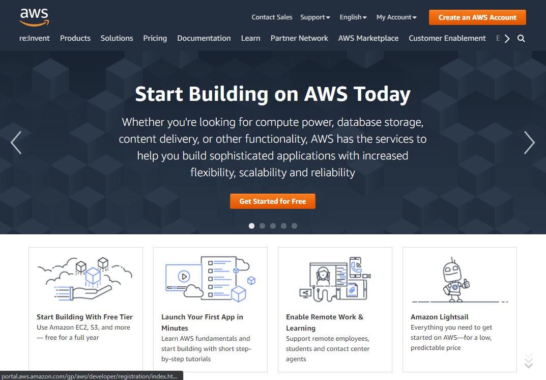 The AWS Website