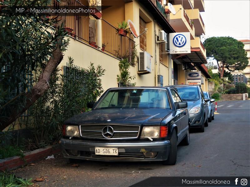 avvistamenti auto storiche - Pagina 13 Mercedes-C126-420-SEC-4-2-218cv-89-AD586-TK
