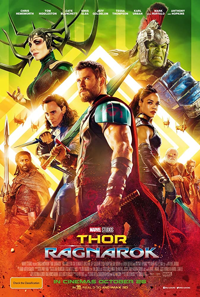Thor: Ragnarok 2017 Hindi ORG Dual Audio 480p BluRay 450MB ESubs