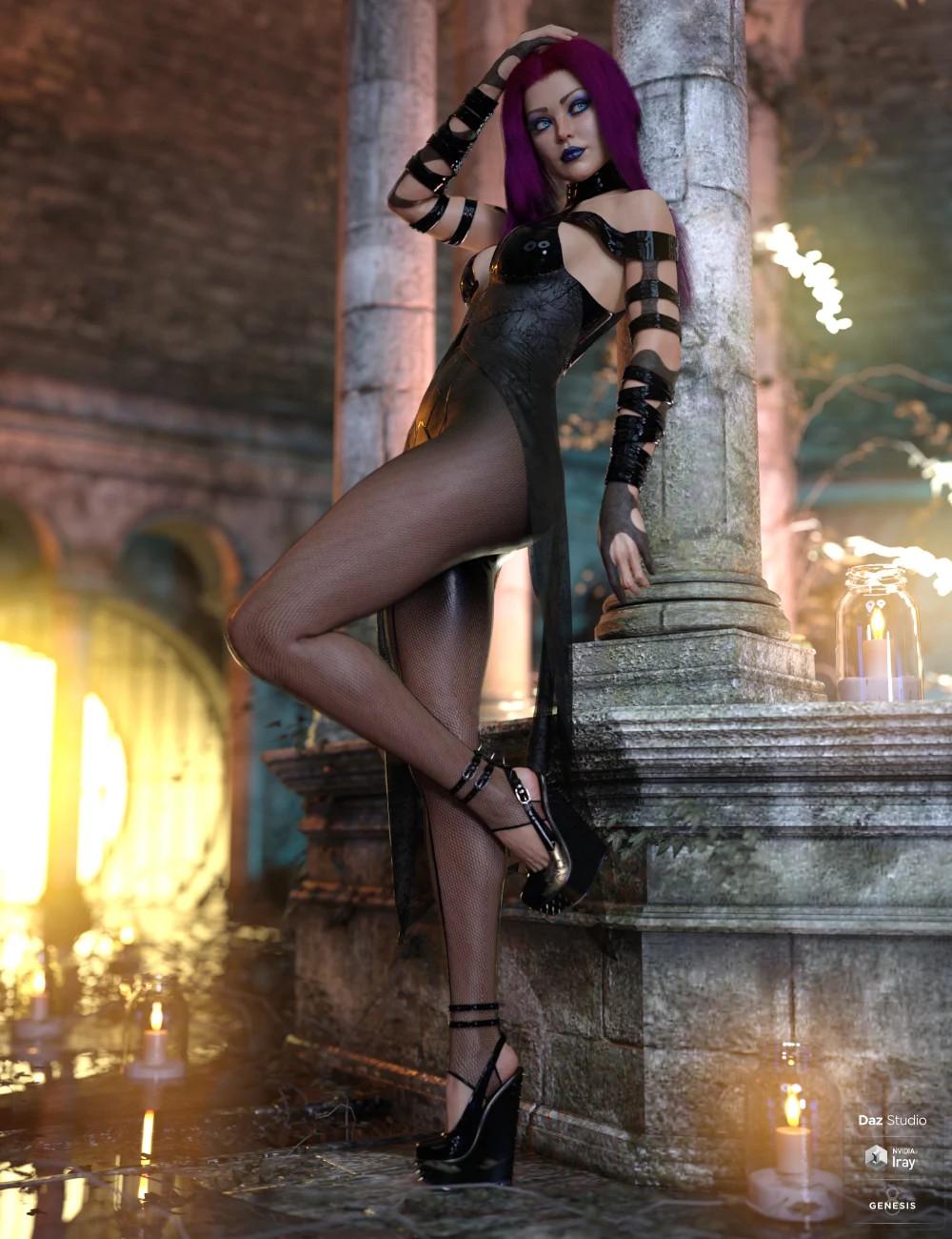 dForce Khandy Outfit for Genesis 8 Females